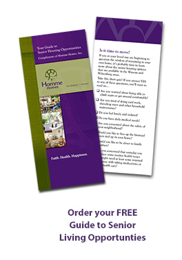 Order your free guide to senior living